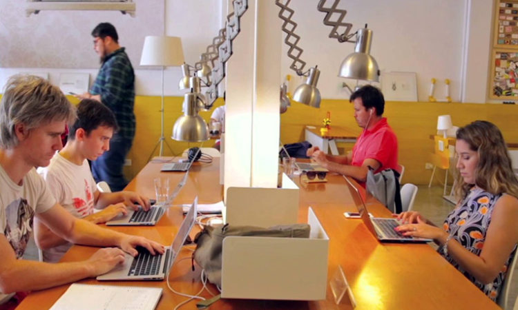 Espacio de coworking