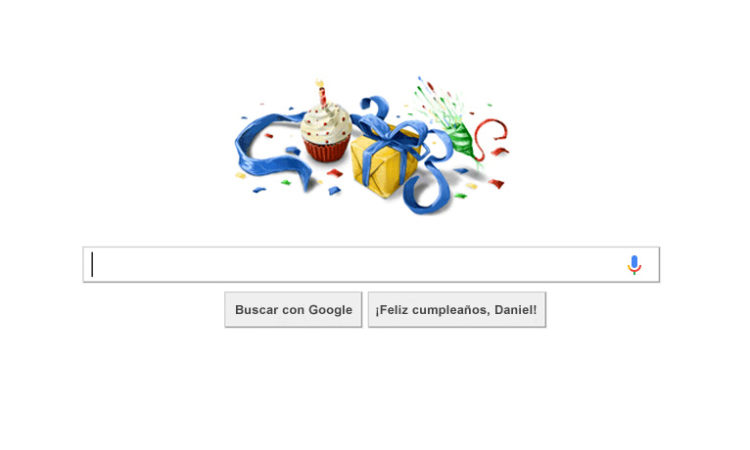 Day Google Page
